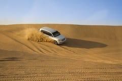 De safari van de woestijn in Doubai Royalty-vrije Stock Afbeeldingen