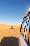 De Safari van de Woestijn van de Sahara Stock Foto