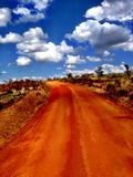De safari van Oeganda Royalty-vrije Stock Afbeeldingen