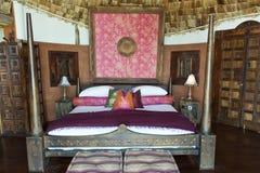 De safarihotel van de luxe in Afrika stock foto's