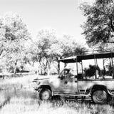 De Safaris van jachtafrika stock afbeeldingen