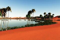 De Sahara 1 stock illustratie
