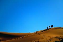De Sahara Stock Afbeelding