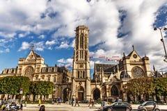 ` de Saint-Germain-l Auxerrois - Paris, le 11 octobre 2016 Ch catholique photos stock