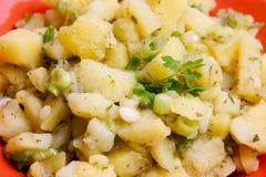 De salade van aardappels Stock Afbeelding