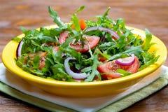 De salade van Arugula Stock Foto
