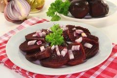 De salade van bieten Stock Foto's