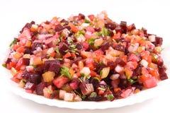 De salade van bieten Royalty-vrije Stock Foto