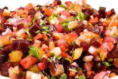 De salade van bieten Royalty-vrije Stock Foto's
