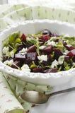 De salade van bieten en van de raket Royalty-vrije Stock Foto