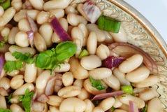 De salade van bonen Stock Afbeeldingen