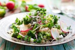 De salade van broccoli stock fotografie
