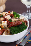 De salade van broccoli Stock Foto