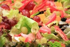 De salade van Caesar royalty-vrije stock foto's