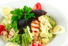 De salade van Caesar met kip Stock Fotografie