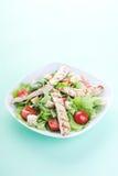 De salade van Caesar van de kip Royalty-vrije Stock Foto's