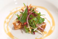De salade van Calamari Stock Foto's