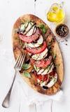 De salade van Caprese Royalty-vrije Stock Foto