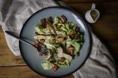 De salade van Cesar Stock Afbeeldingen