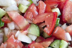 De salade van Coban Stock Foto