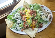 De salade van Cobb royalty-vrije stock foto