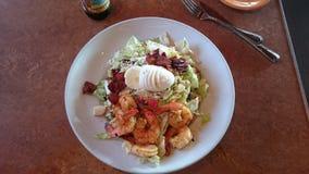 De salade van Cobbgarnalen Royalty-vrije Stock Fotografie