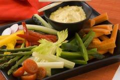 De salade van Crudites. Royalty-vrije Stock Fotografie