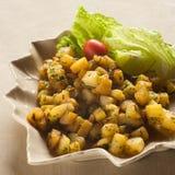 De Salade van de aardappel Stock Foto