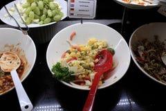 De Salade van de aardappel Royalty-vrije Stock Afbeeldingen