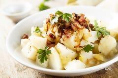 De Salade van de aardappel Stock Afbeeldingen