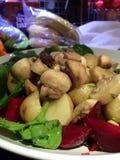 De Salade van de aardappel Royalty-vrije Stock Fotografie