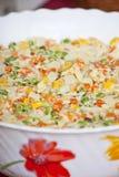 De salade van de aardappel met wegetables Royalty-vrije Stock Foto