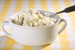 De Salade van de Aardappel van de veganist Royalty-vrije Stock Afbeelding