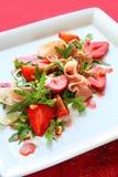 De salade van de aardbei Stock Fotografie