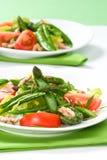 De salade van de asperge Stock Foto's