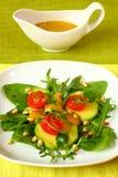 De salade van de avocado Royalty-vrije Stock Foto's