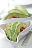 De salade van de avocado Stock Foto's