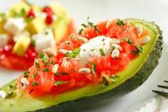 De salade van de avocado stock fotografie