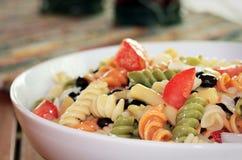 De Salade van de Boon van deegwaren Royalty-vrije Stock Foto's