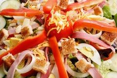 De Salade van de chef-kok Stock Afbeeldingen