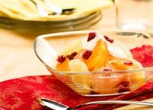 De Salade van de citrusvrucht Royalty-vrije Stock Foto