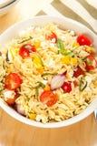 De Salade van de Deegwaren van Orzo Royalty-vrije Stock Foto's