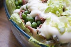 De salade van de erwt Royalty-vrije Stock Afbeelding