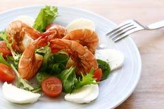 De salade van de garnaal Royalty-vrije Stock Fotografie