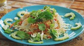 De salade van de garnaal Royalty-vrije Stock Afbeelding