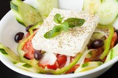De Salade van de geitkaas Royalty-vrije Stock Fotografie