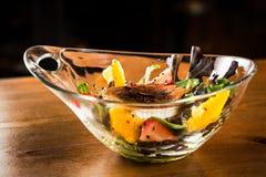 De salade van de geitkaas Stock Fotografie