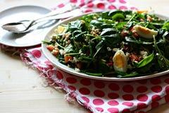 De salade van de gerst met groenten Royalty-vrije Stock Foto