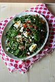 De salade van de gerst met groenten Royalty-vrije Stock Fotografie