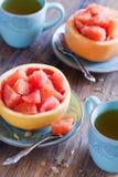 De salade van de grapefruit royalty-vrije stock foto